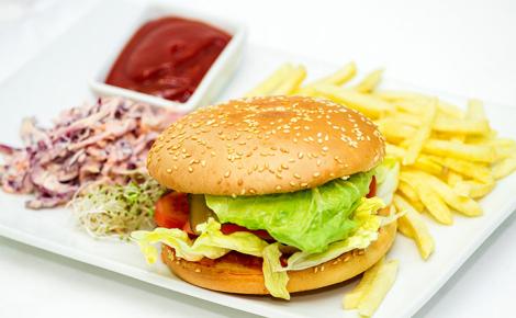 Бургер «Красная курица»